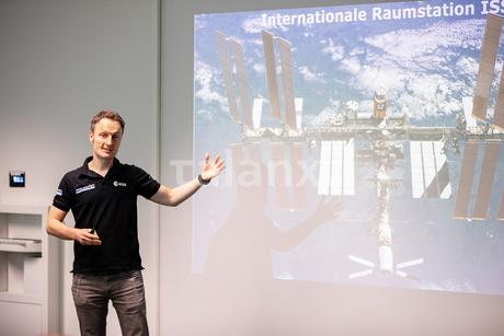 Gastvortrag: Dr. Matthias Maurer