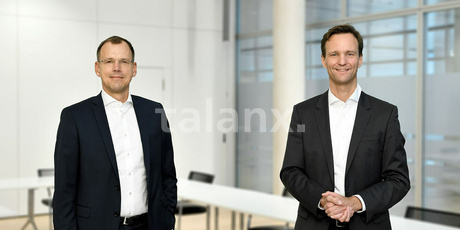 Dr. Wilm Langenbach und Torsten Leue